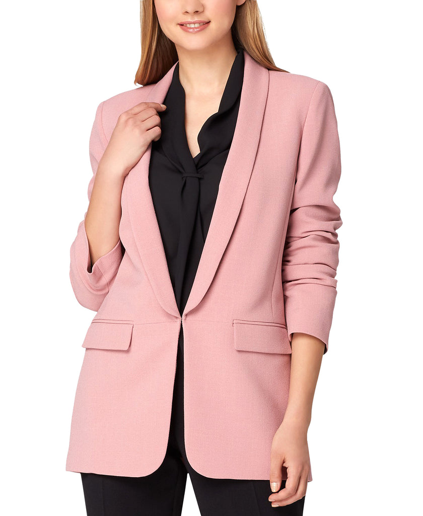 Yieldings Discount Clothing Store's Shawl Collar Blazer by Tahari in Primrose