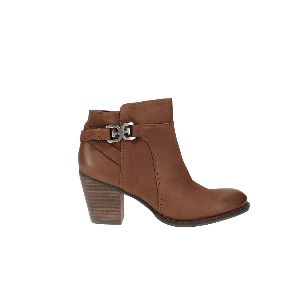 Yieldings Discount Shoes Store's Morgon Ankle Booties by Sam Edelman in Toasted Coconut