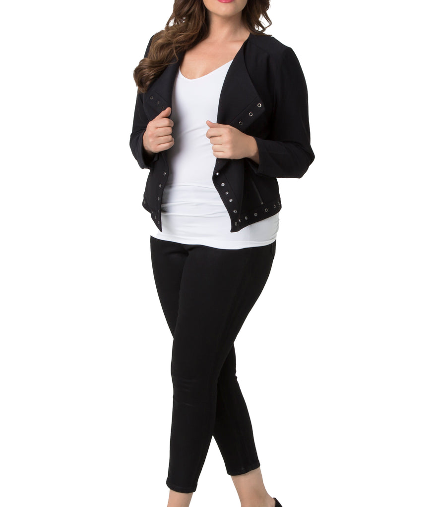Yieldings Discount Clothing Store's Jory Jacket by Lysse in Black