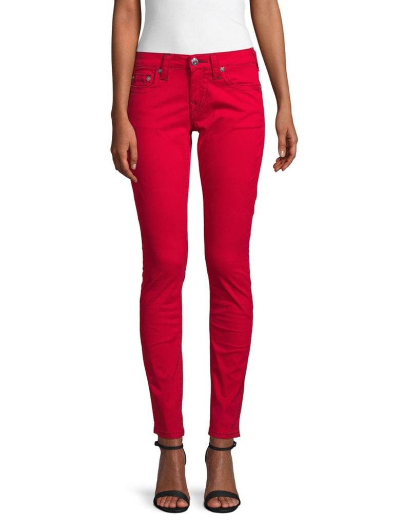 Yieldings Discount Clothing Store's Skinny-Fit Jeans by True Religion in Ruby Red
