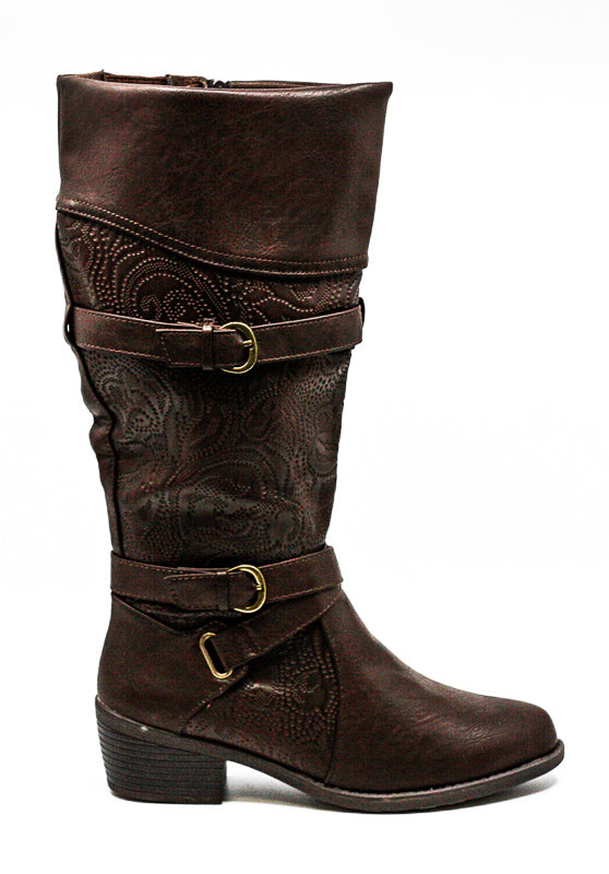 Easy Street | Kelsa Plus Wide Calf Riding Boots