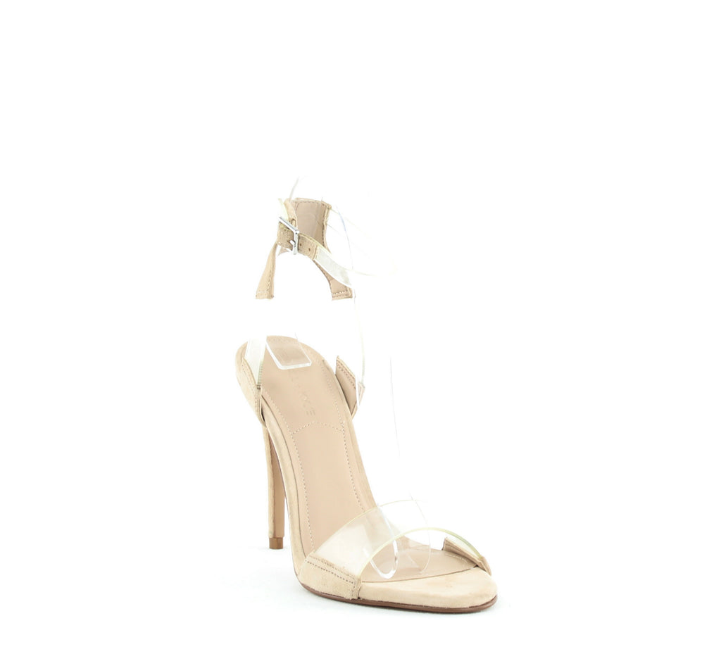 Yieldings Discount Shoes Store's Enya Stiletto Sandals by Kendall + Kylie in Light Natural