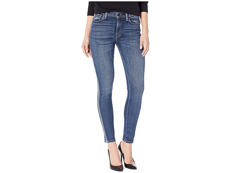 Yieldings Discount Clothing Store's Barbara Side Stripe Skinny Fit Jeans by Hudson in Hypnotic