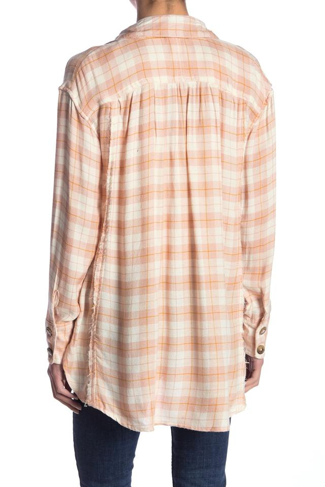 Free People | All About The Feels Plaid Button Up Shirt