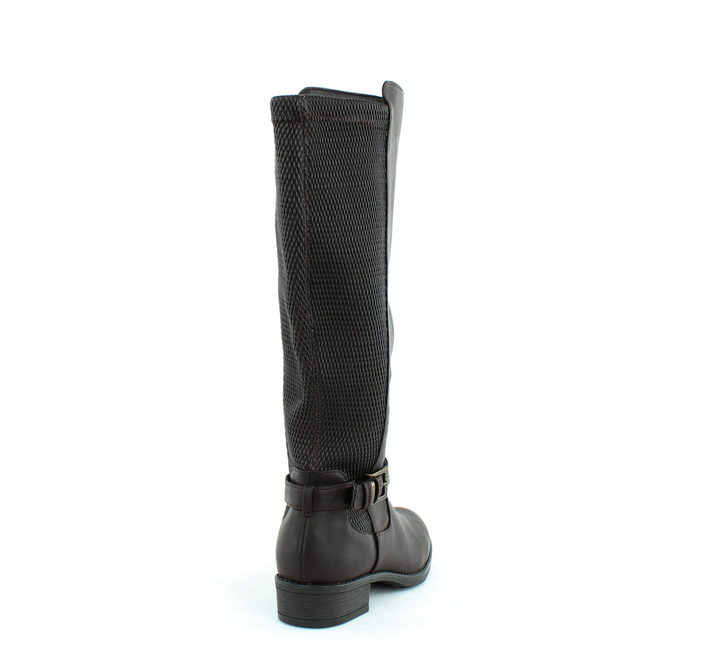 Yieldings Discount Shoes Store's Luciaa Riding Boots by Style & Co in Chocolate