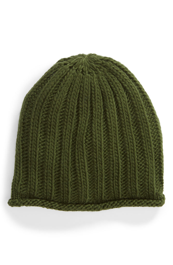 Yieldings Discount Accessories Store's Rory Rib Beanie by Free People in Olive