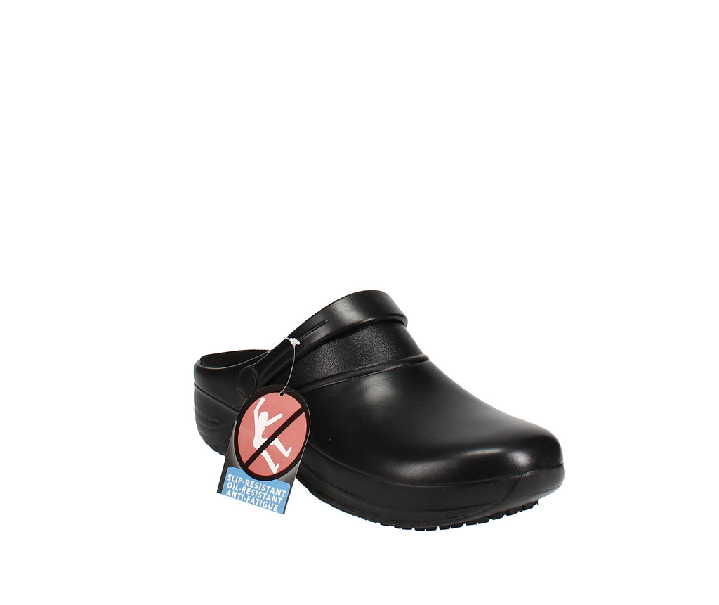 Yieldings Discount Shoes Store's Time Clogs by Easy Street in Black