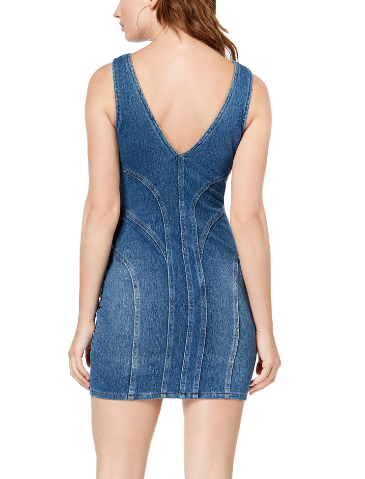 Guess | Indigo Knit Bodycon Dress