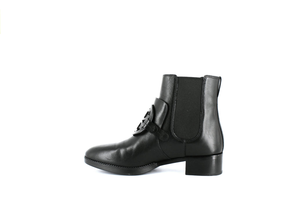 Yieldings Discount Shoes Store's Miller Chelsea Booties by Tory Burch in Black