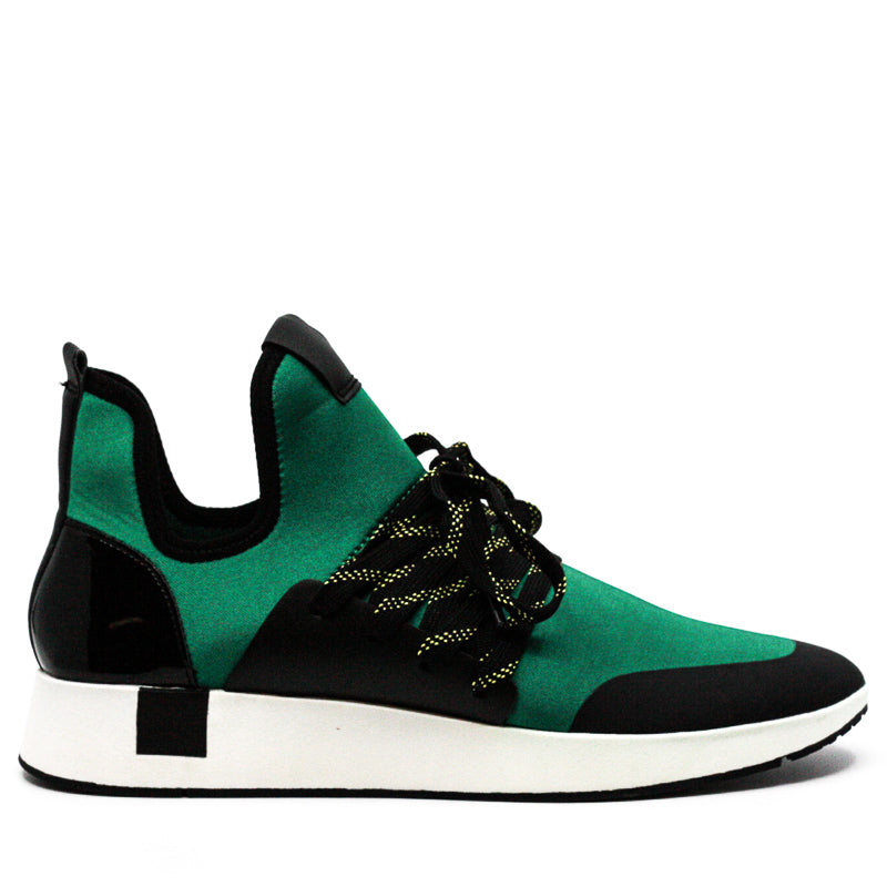 Yieldings Discount Shoes Store's Shady Sneakers by Steve Madden in Green