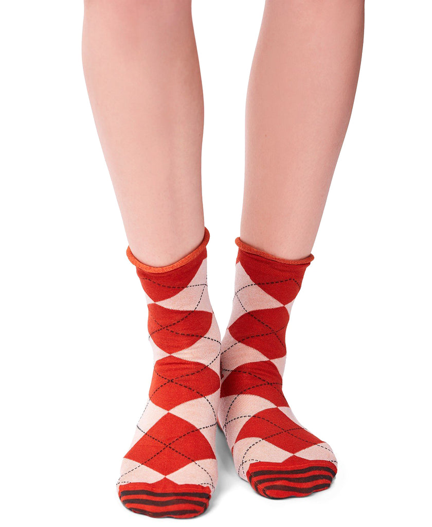 Yieldings Discount Clothing Store's Emmet Anklet Socks by Free People in Gold