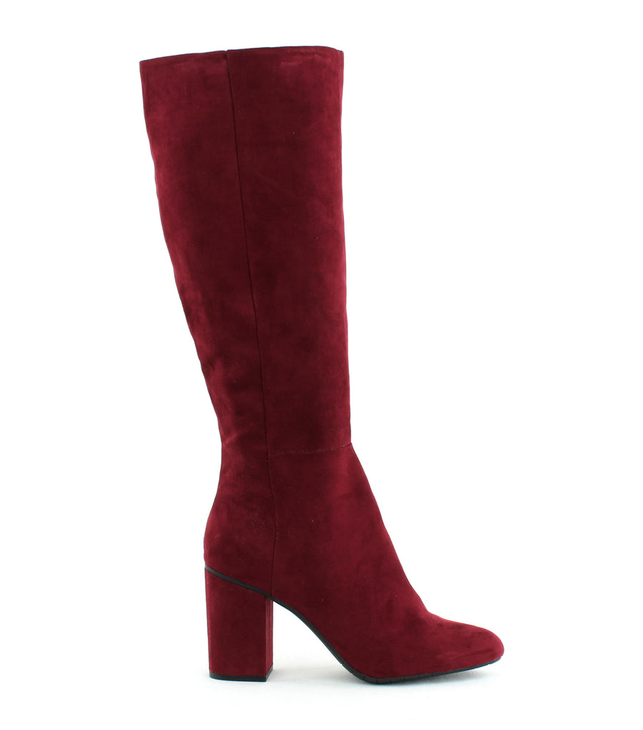 Yieldings Discount Shoes Store's Time To Step Knee-High Boots by Reaction Kenneth Cole in Burgundy