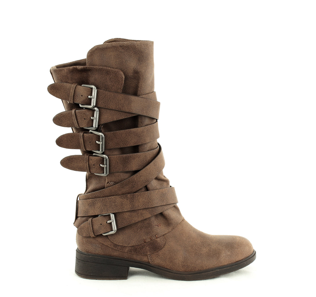 Yieldings Discount Shoes Store's Huck Mid Calf Boots by Report in Taupe