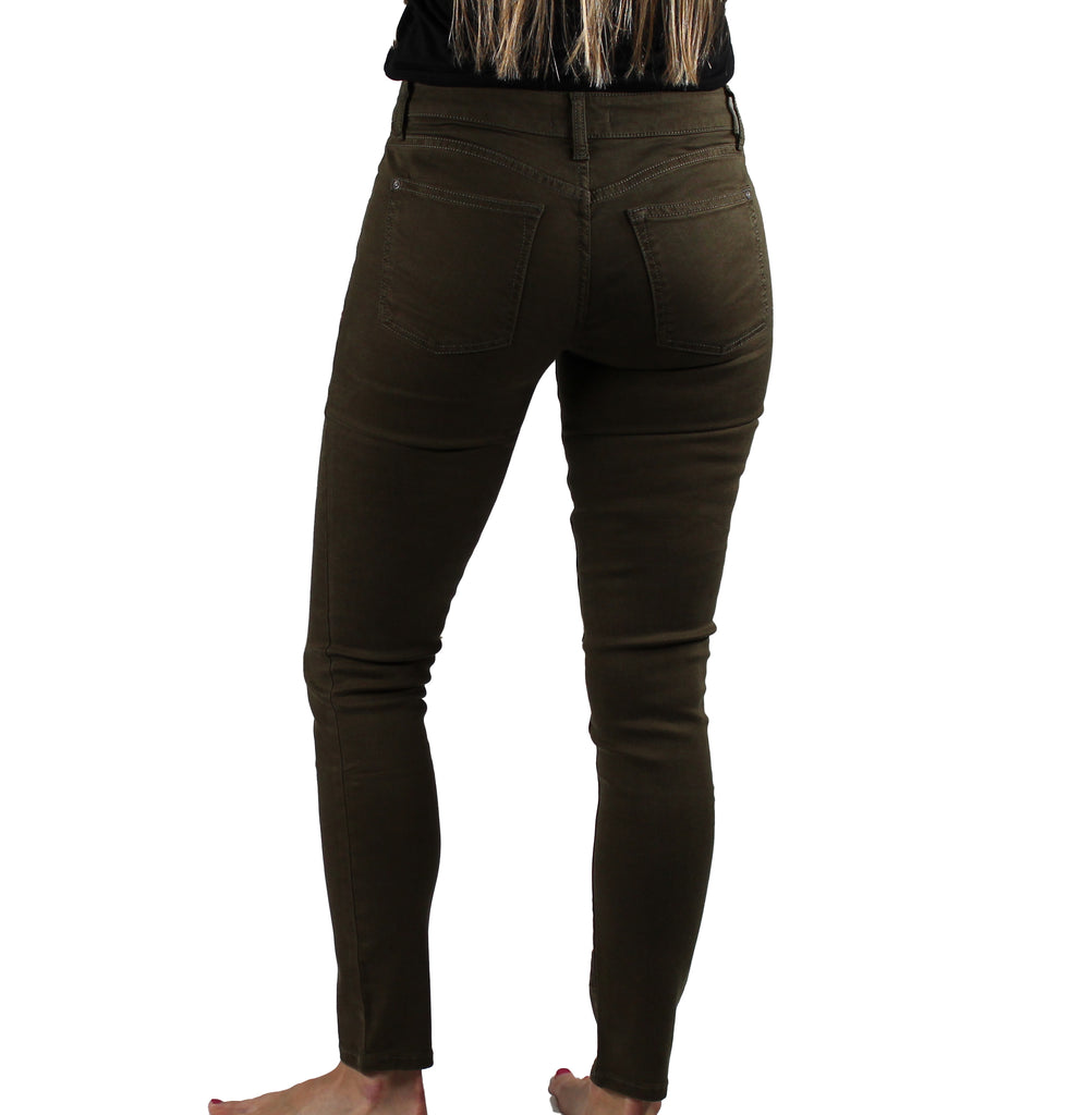 Yieldings Discount Clothing Store's JFK - Skinny Jeans by Warp + Weft in Army