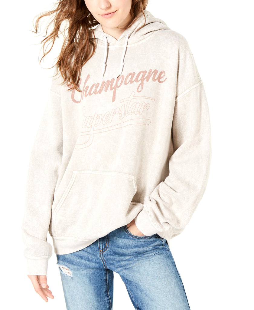 Yieldings Discount Clothing Store's Champagne Superstar Sweatshirt by True Vintage in Egret