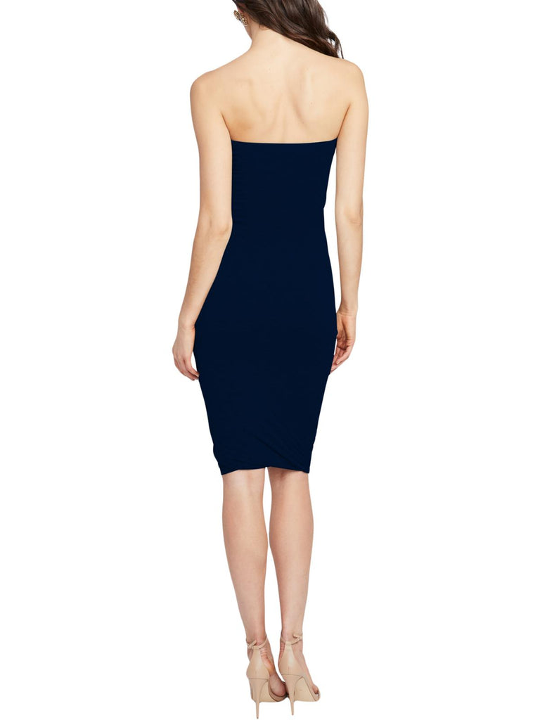 Yieldings Discount Clothing Store's May Twisted Tube Dress by RACHEL Rachel Roy in Heather Navy