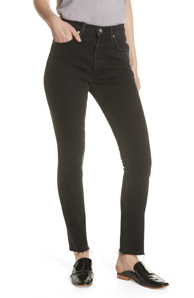 We The Free By Free People | Stella High Waist Skinny Jeans