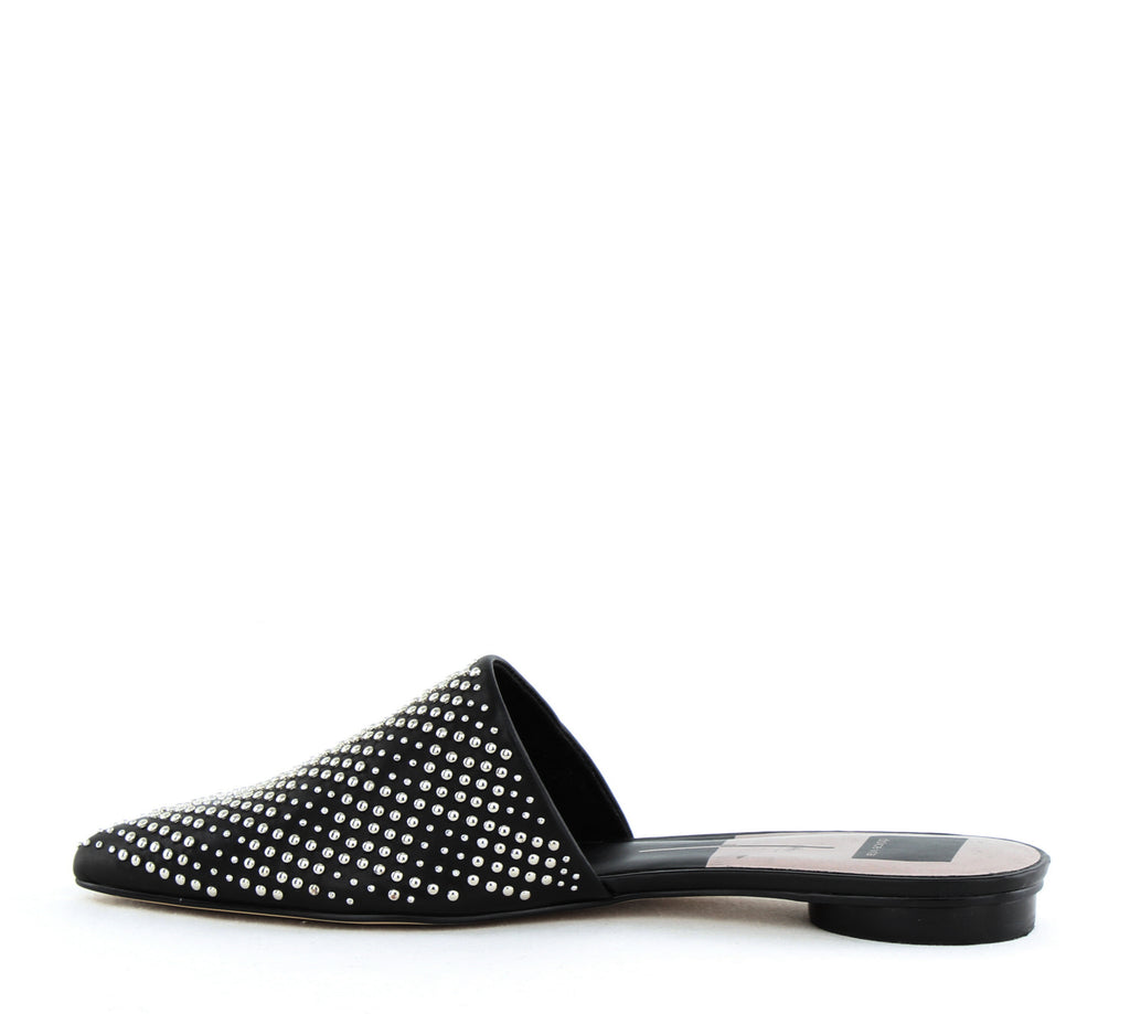 Yieldings Discount Shoes Store's Elvah Closed Toe Slides by Dolce Vita in Black