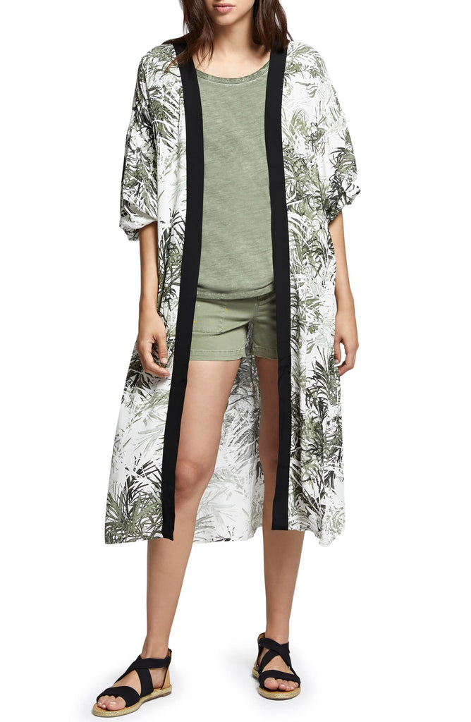 Yieldings Discount Clothing Store's Printed Kimono by Sanctuary in Tiki Palm