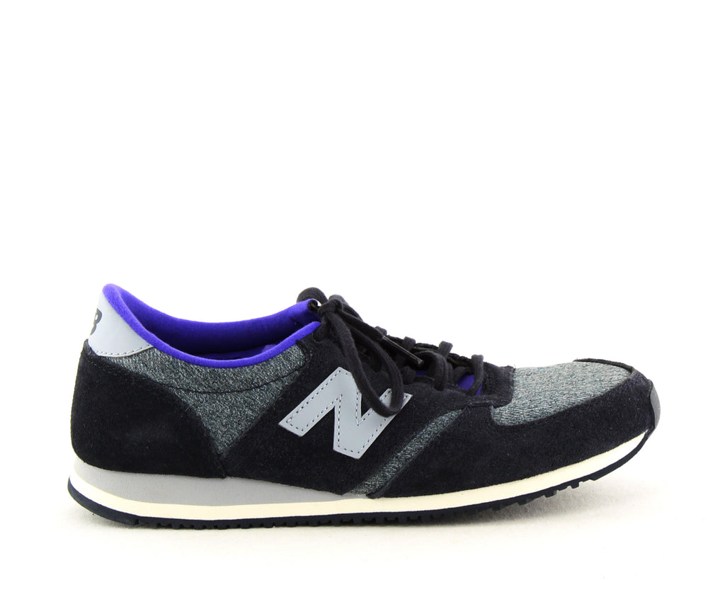 Yieldings Discount Shoes Store's Classics Lace Up Sneakers by New Balance in Navy