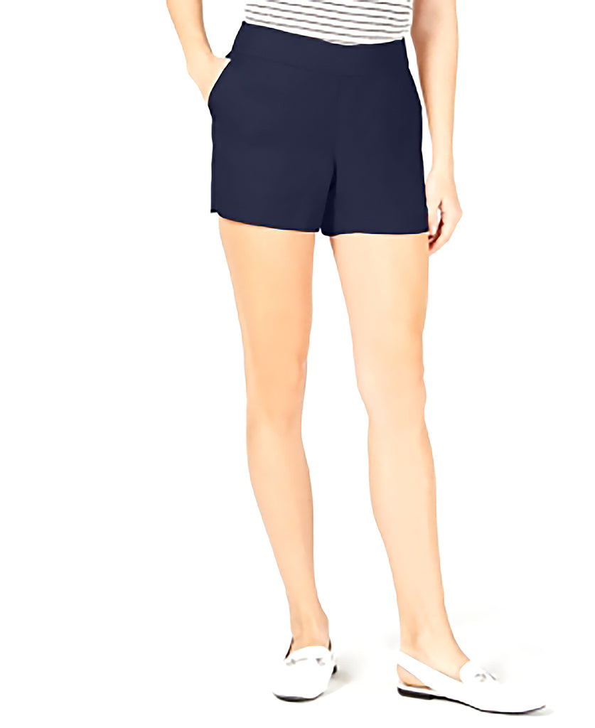 Yieldings Discount Clothing Store's Pull-On Shorts by Maison Jules in Blu Notte