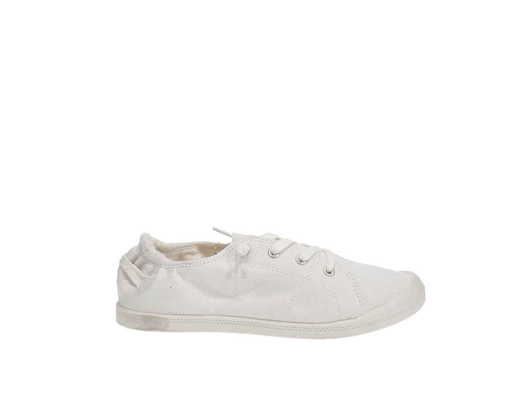 Yieldings Discount Shoes Store's Brooke Lace-Up Sneakers by Material Girl in White