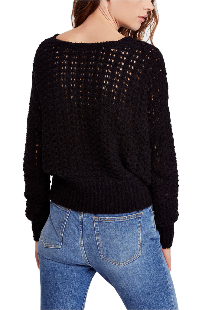 Yieldings Discount Clothing Store's Best Of You Sweater by Free People in Black
