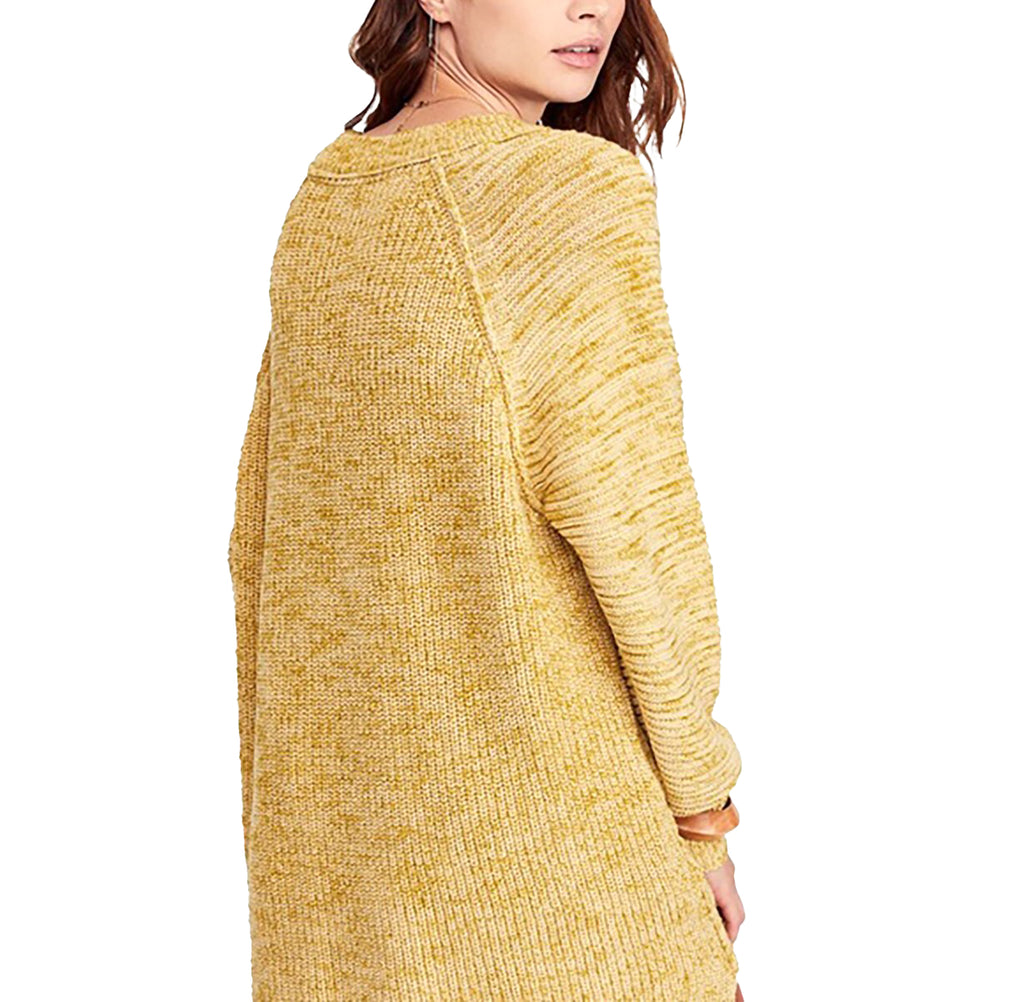 Yieldings Discount Clothing Store's Sunday Scoop Neck Sweater by Free People in Buttercup
