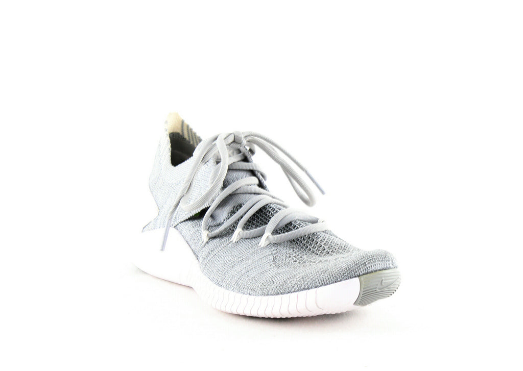 Yieldings Discount Shoes Store's Free Train Flyknit 3 by Nike in Wolf Grey/White