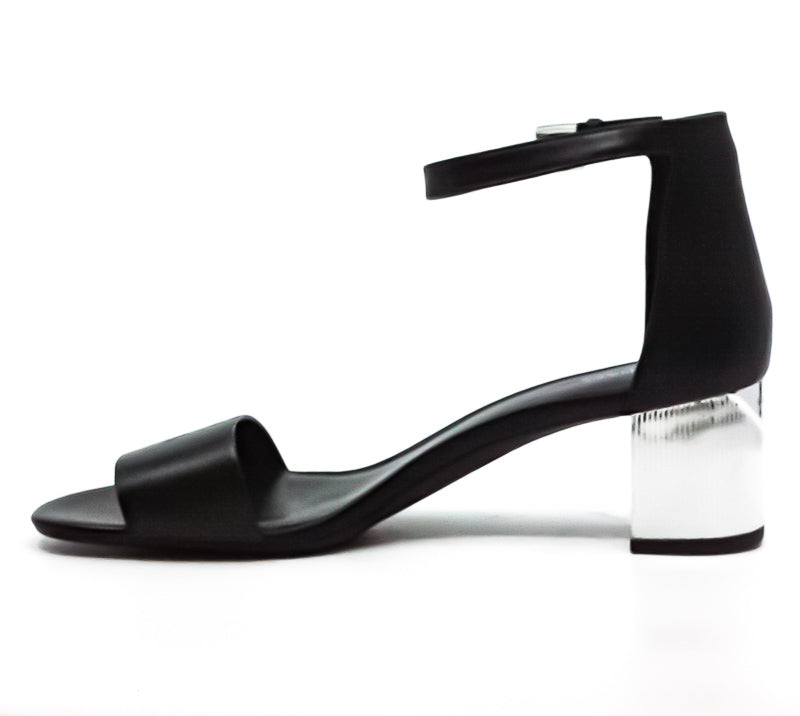 Yieldings Discount Shoes Store's Paloma Leather Flex Sandals by MICHAEL Michael Kors in Black