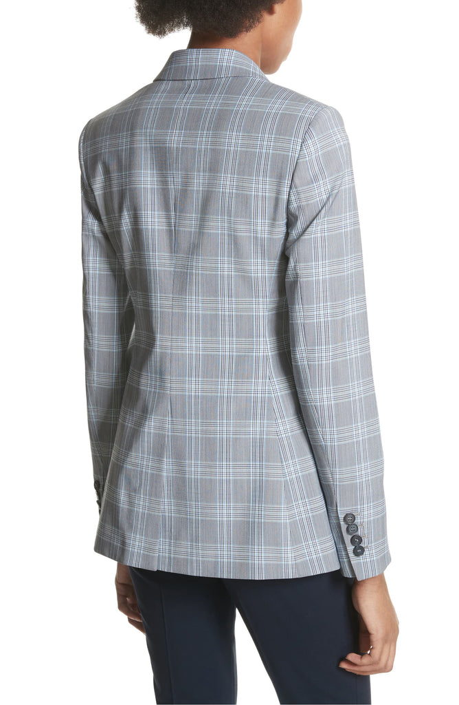 Yieldings Discount Clothing Store's Mapel Wool Power Jacket by Theory LLC in Multi