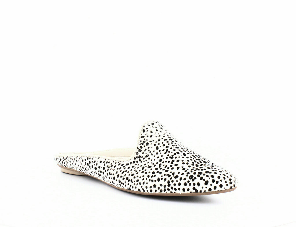 Yieldings Discount Shoes Store's Grant Perforated Mules by Dolce Vita in White Leopard