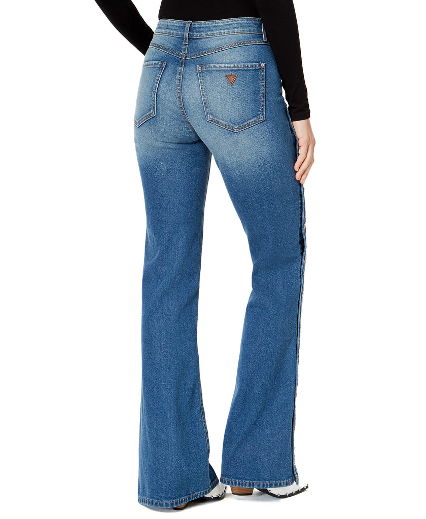 Yieldings Discount Clothing Store's Authentic 1981 Flare Jeans by Guess in Denim