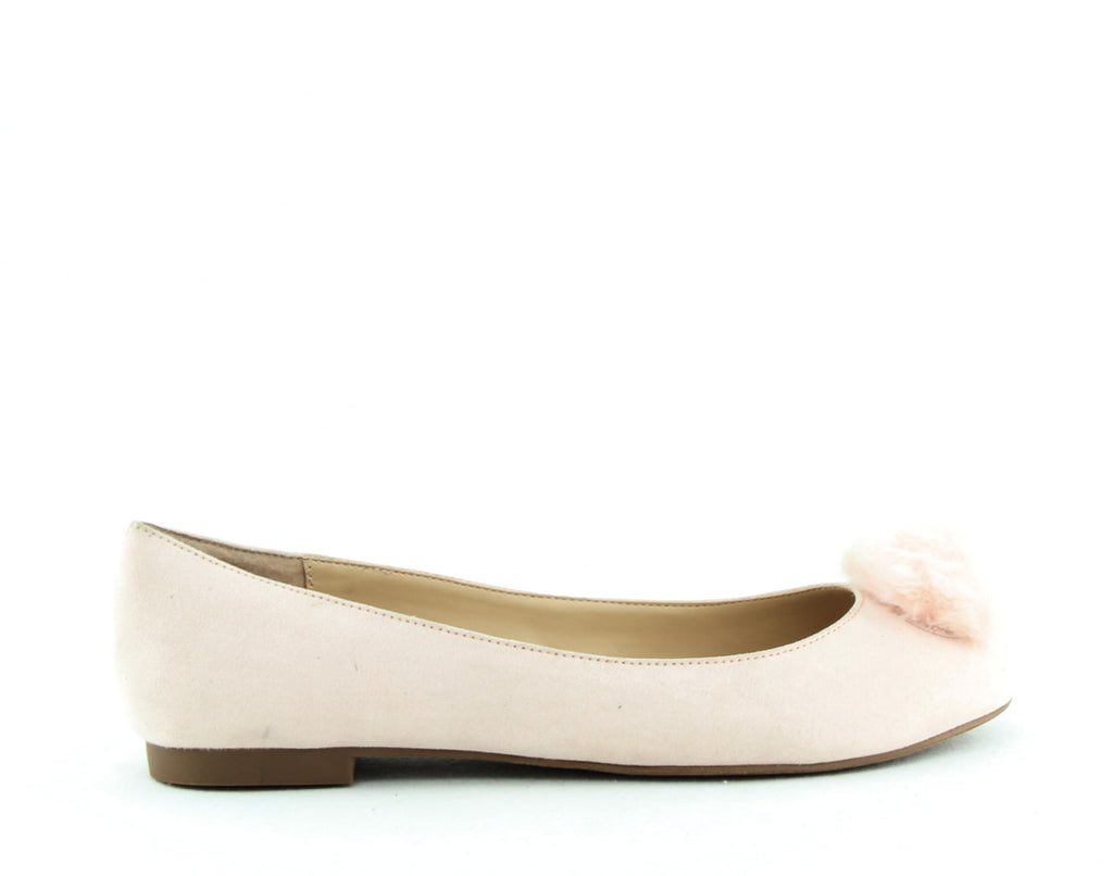 Charles By Charles David | Danni Pom Pom Suede Flats