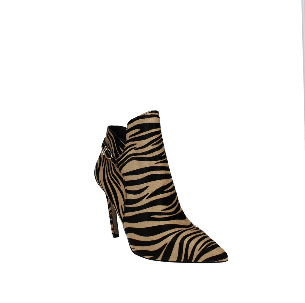 Yieldings Discount Shoes Store's Fiora Dress Booties by Sam Edelman in Nude Zebra