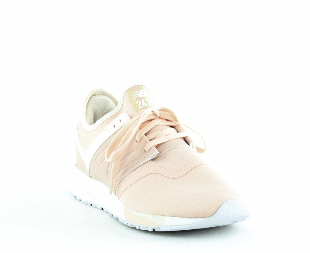 Yieldings Discount Shoes Store's Lifestyle Lace Up Sneakers by New Balance in Cream Tan/Dew