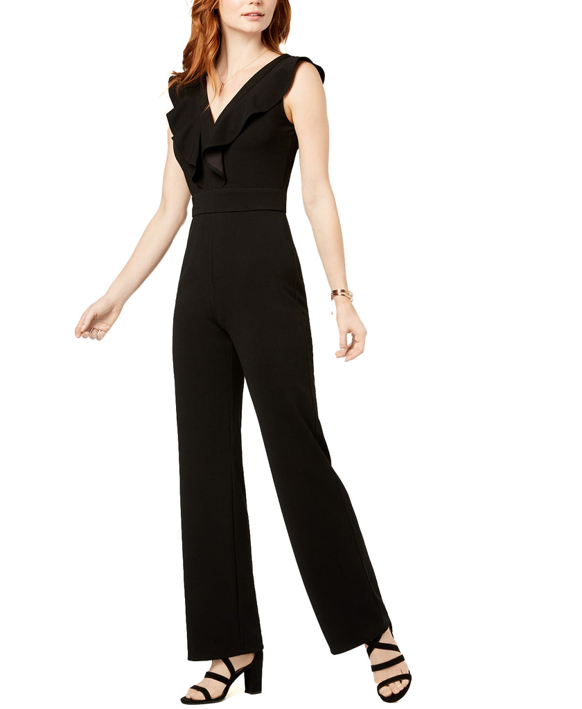 Bar III | Ruffled Jumpsuit