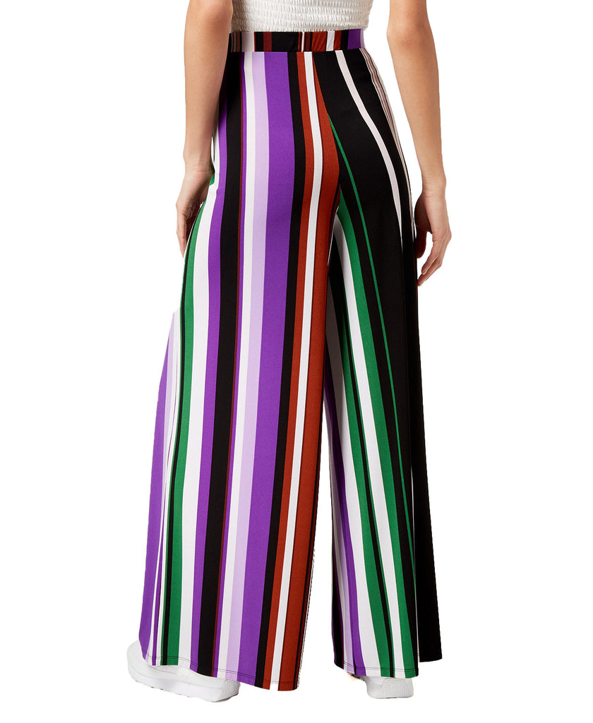 Yieldings Discount Clothing Store's Striped Wide-Leg Pants by Bar III in Statement Stripe