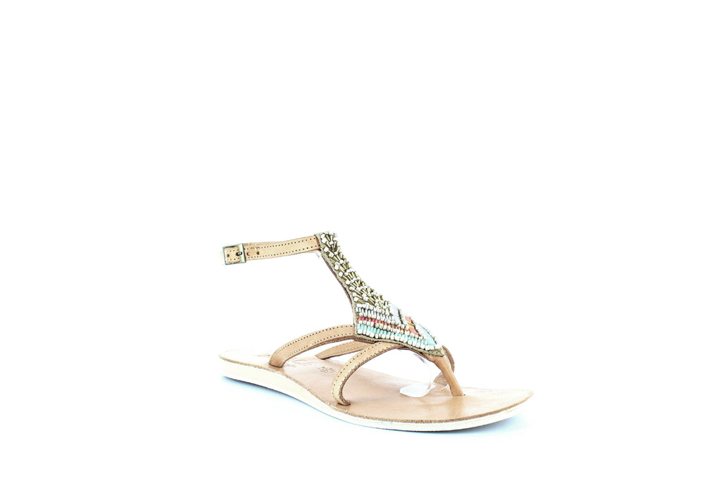 Yieldings Discount Shoes Store's Arrow Sandals by L*Space by Cocobelle in Sand
