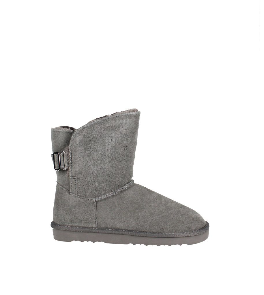 Yieldings Discount Shoes Store's Teenyy Cold-Weather Booties by Style & Co in Grey