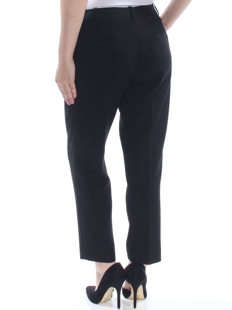 Yieldings Discount Clothing Store's Wide Waistband High Waist Pants by Tahari in Black