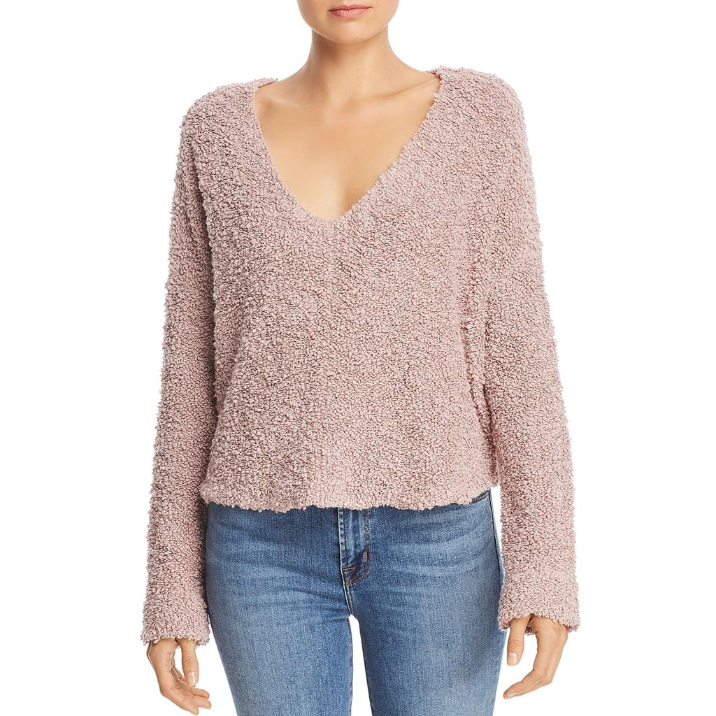 Yieldings Discount Clothing Store's Popcorn Pullover Sweater by Free People in Lavender
