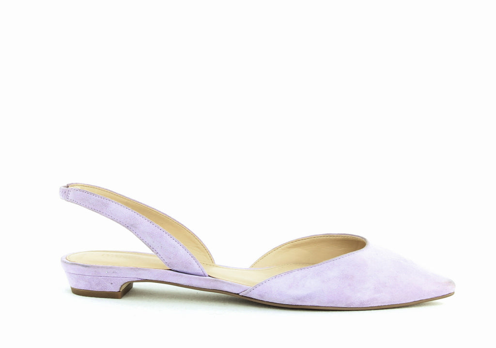 Yieldings Discount Shoes Store's Tevelyn Pointed Toe Flats by Ivanka Trump in Light Purple