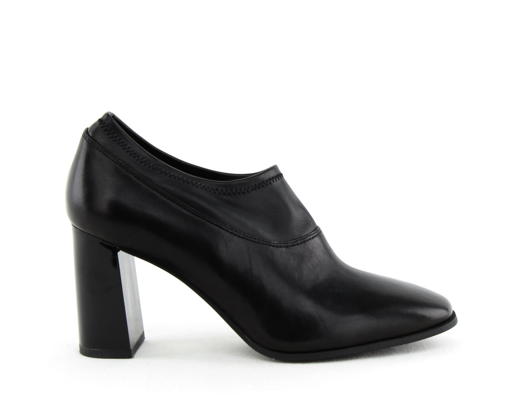 Yieldings Discount Shoes Store's Sade Block Heel Booties by DKNY in Black