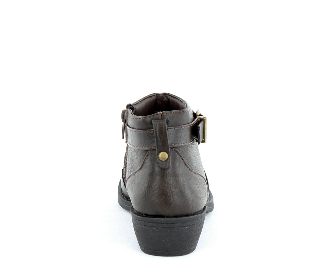 Yieldings Discount Shoes Store's Shannon Bootie by Easy Street in Brown
