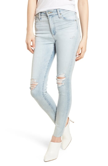 AG Adriano Goldschmied | The Farrah High-Rise Skinny Ankle Jeans