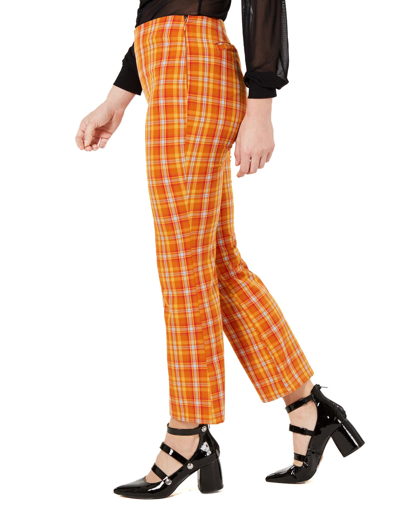 Guess | Plaid Kick Flare Pants