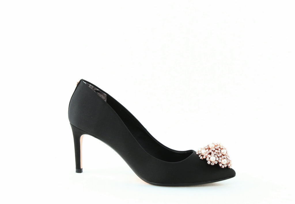 Yieldings Discount Shoes Store's Dahrlin Pumps by Ted Baker London in Black