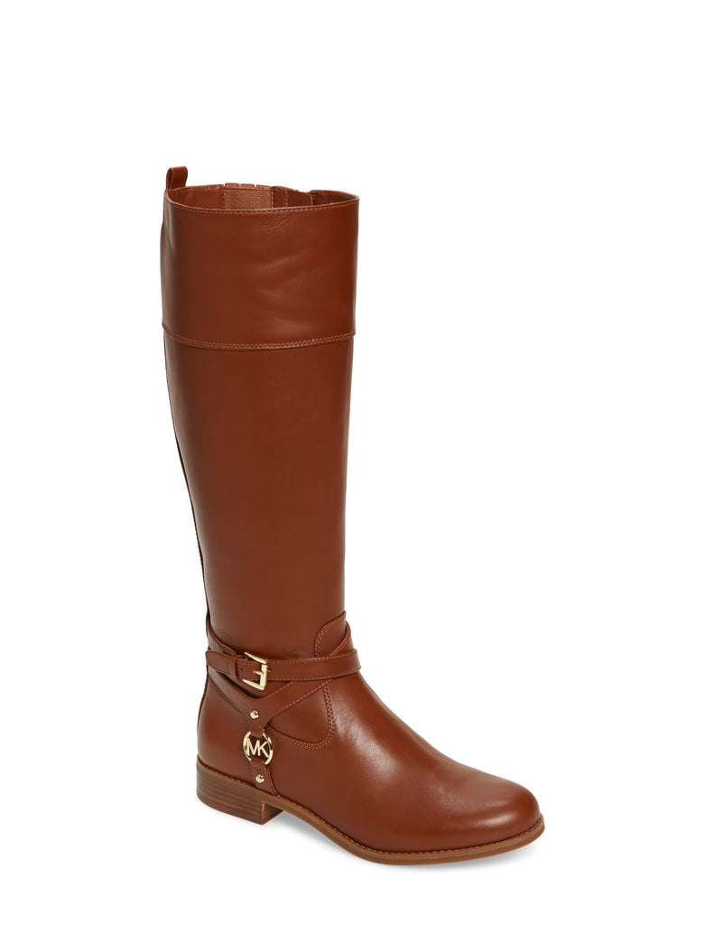 Yieldings Discount Shoes Store's Preston Boots by MICHAEL Michael Kors in Chestnut