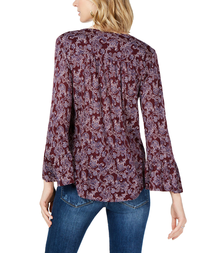 Lucky Brand | Embroidered Blouse